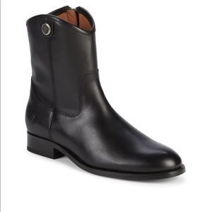 Frye - Melissa Button Short Leather Boots